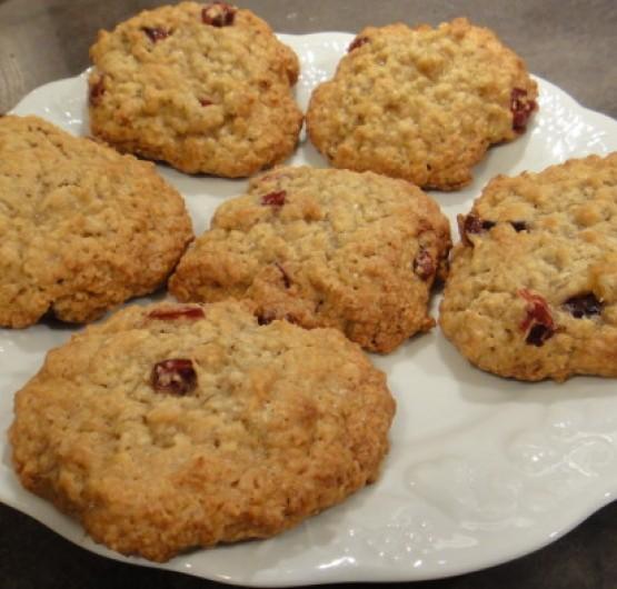 Cookie flocons d'avoine et compote de pomme vanillée